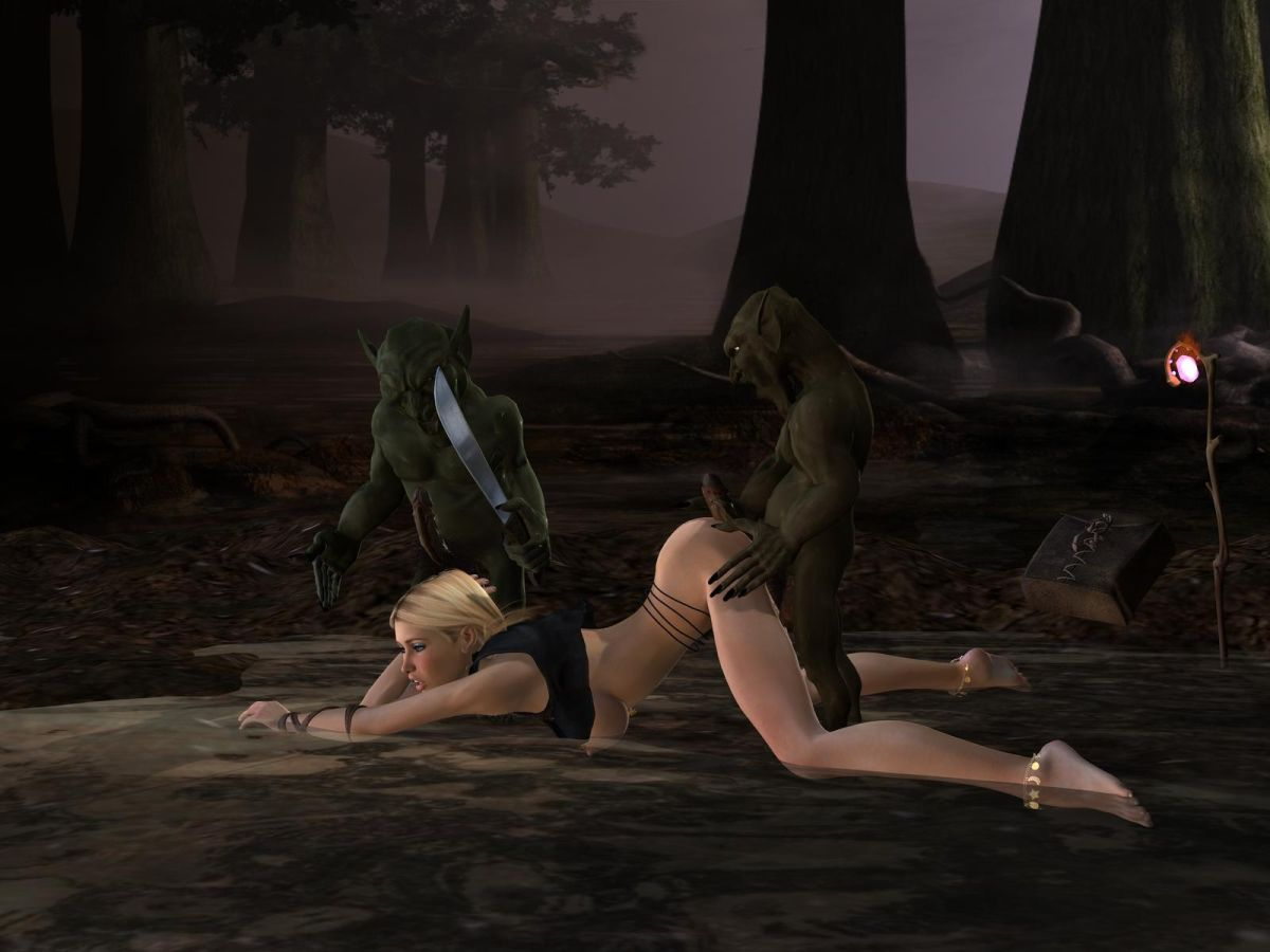 Gnomes gang bang orc naked wild female