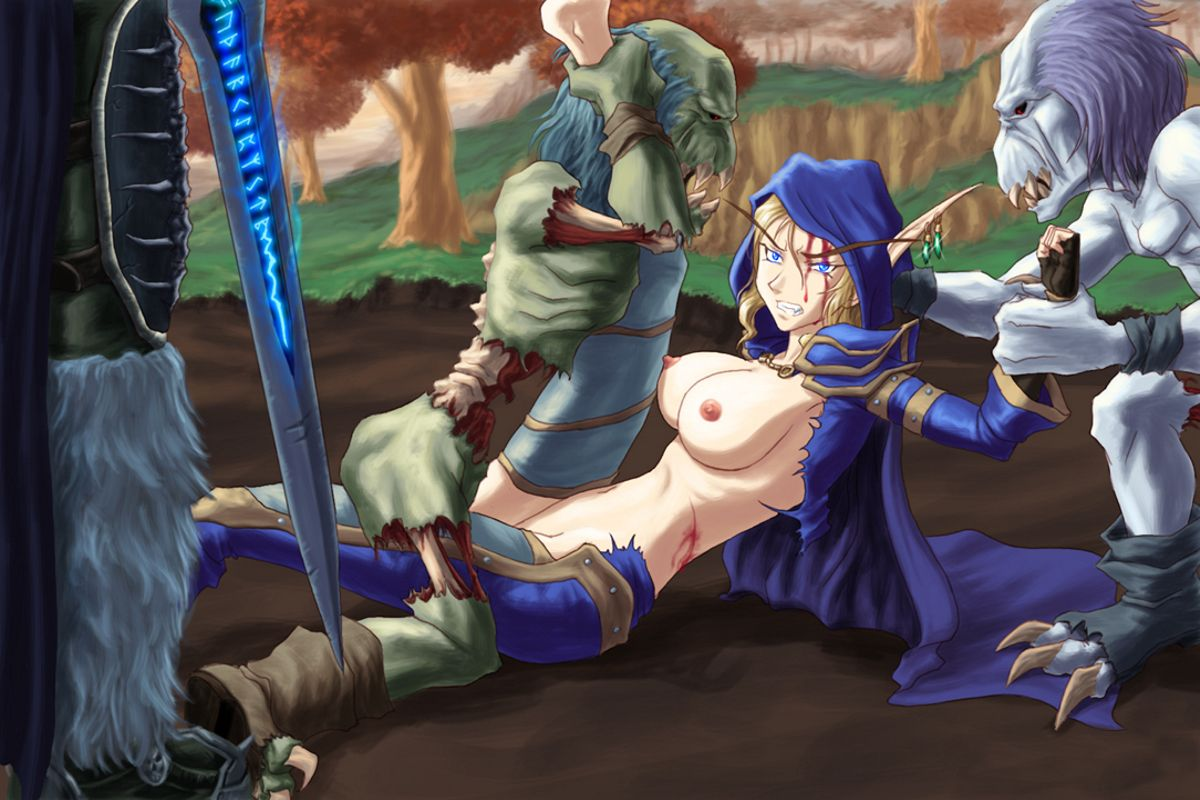 Sylvanas hentai video adult clip