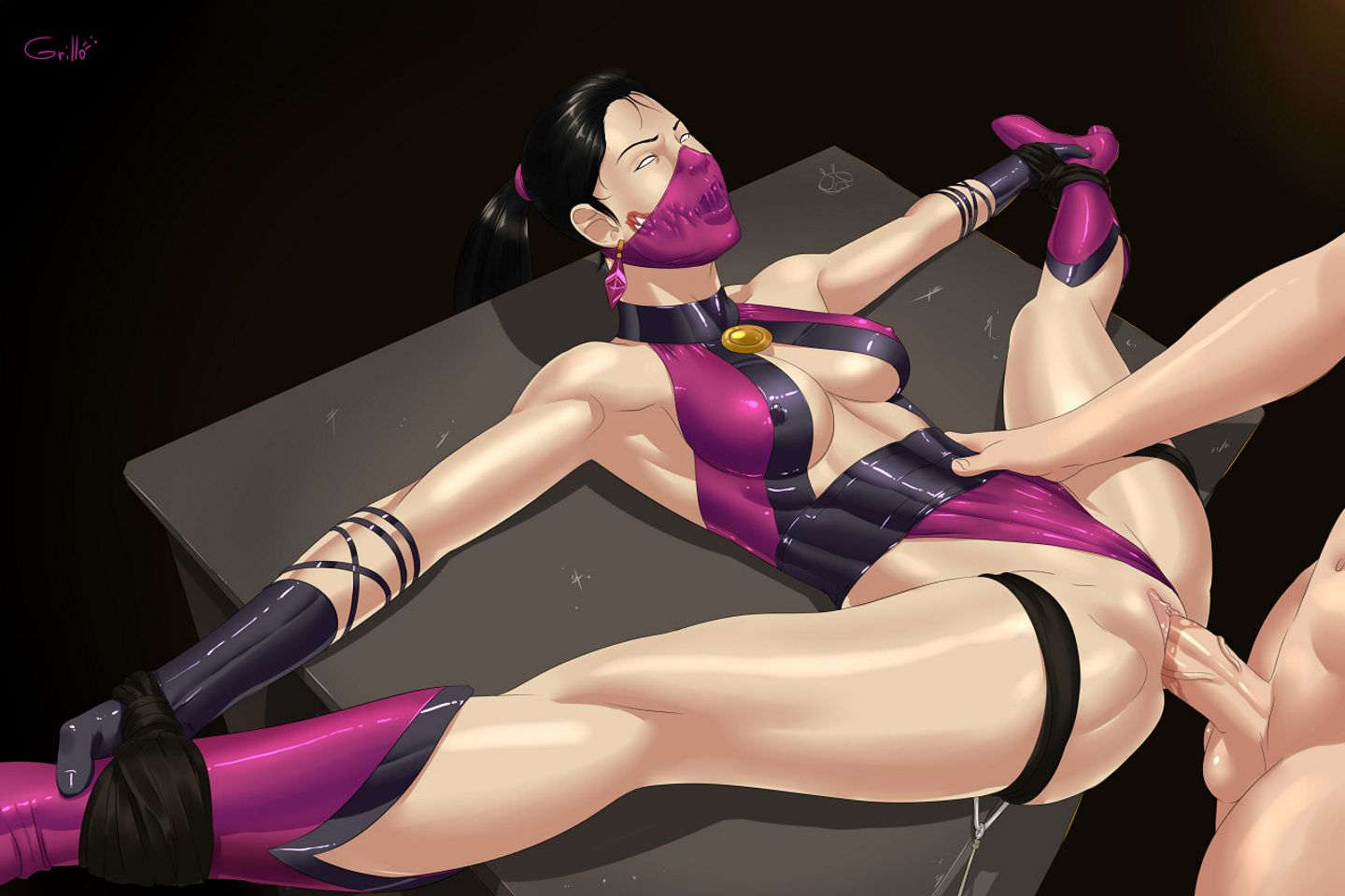 Mortal kombat girls bdsm fucking comic